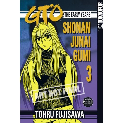 GTO Manga Release Information: Part Of The Great Teacher